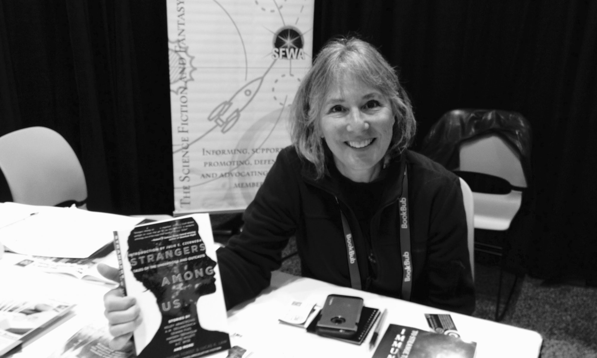 Susan Forest attends SFWA event