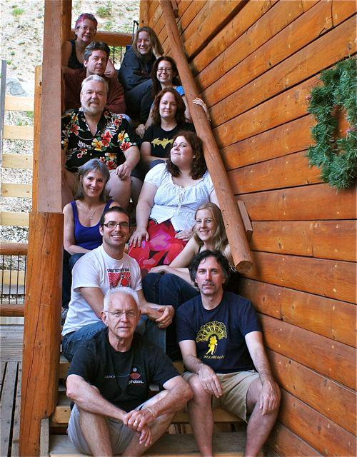 Susan Forest attends the Rio Hondo writers' retreat