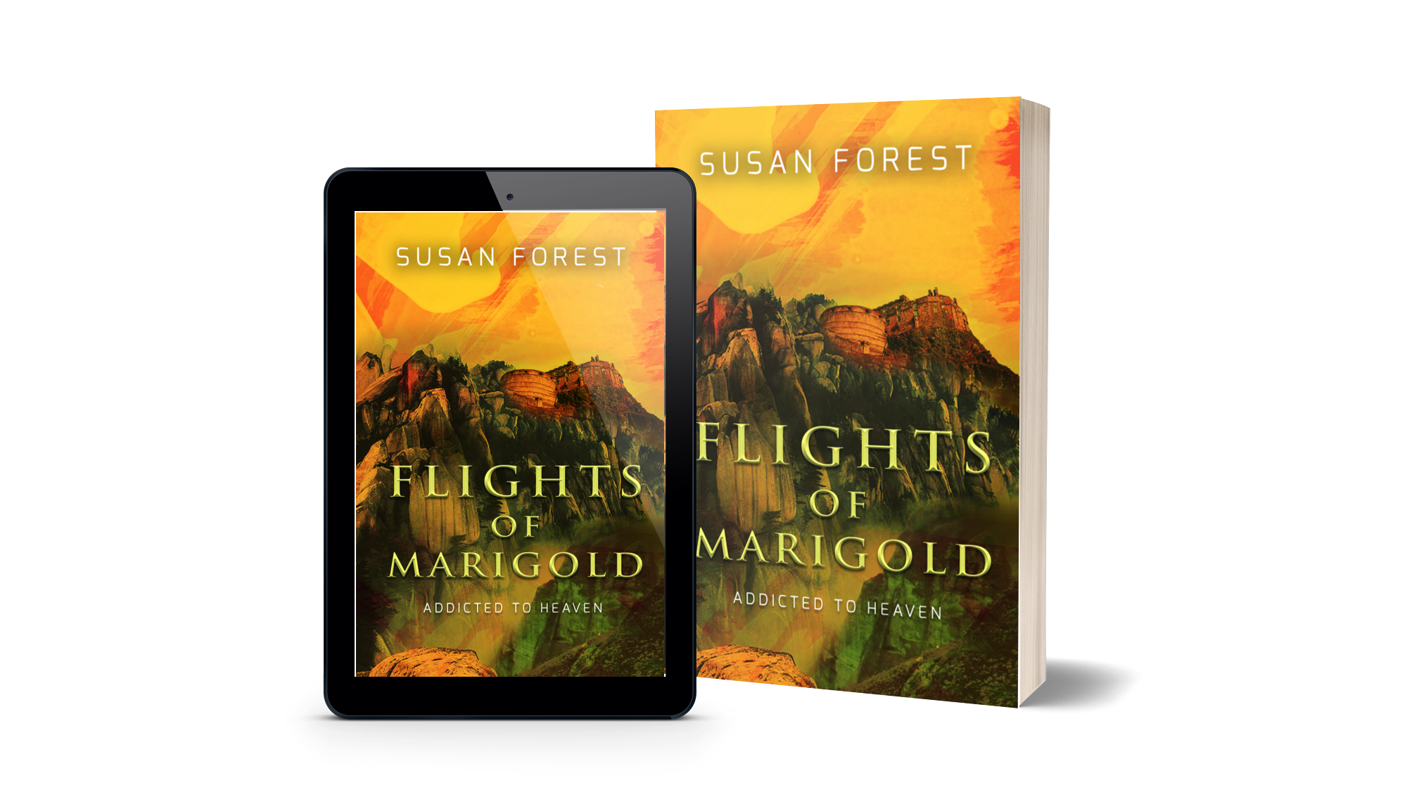 Cover Image of Flights of Marigold in several formats
